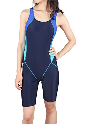 b0762f19b577 Lemef One Piece Swimsuit Boyleg Sport Swimwear for Women – LeSote