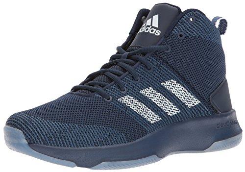 Men Sports adidas Men's DT Bball Mid Basketball Shoe Blue